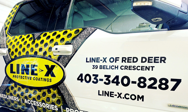G-Force Signs & Graphics - Services - Fleet Branding - Red Deer, Alberta