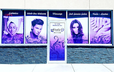 G-Force Signs & Graphics - Services - Window Graphics - Red Deer, Alberta